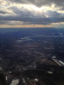 Arriving in Charlotte