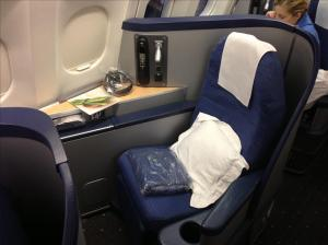 Home Sweet Home for the next 8 hrs