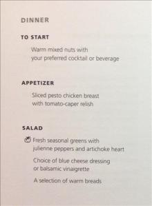 Pictures of menus are what you're here for right?
