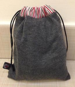 What's behind bag #2?