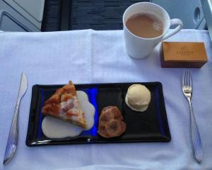 Three desserts in one.