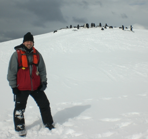 Stepping Foot on the Antarctic Peninsula